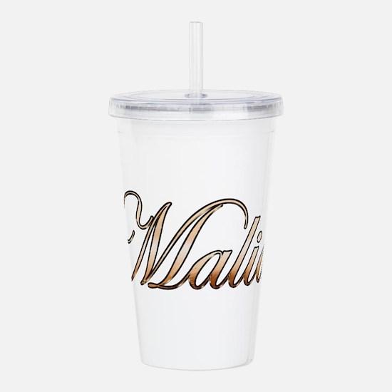 Cute Malia Acrylic Double-wall Tumbler
