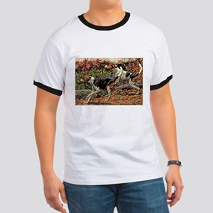 American Foxhound Art Ringer T