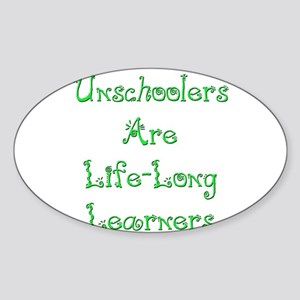 Life Long 15 Oval Sticker
