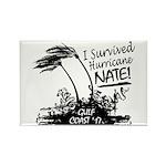 I Survived Hurricane Nate Magnets
