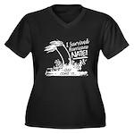 I Survived Hurricane Nate Plus Size T-Shirt