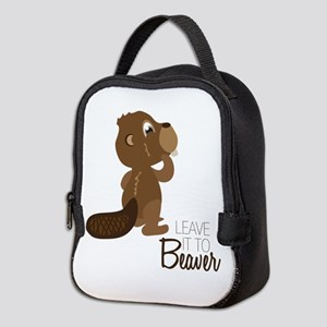 Leave It To Beaver Neoprene Lunch Bag