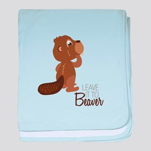 Leave It To Beaver baby blanket