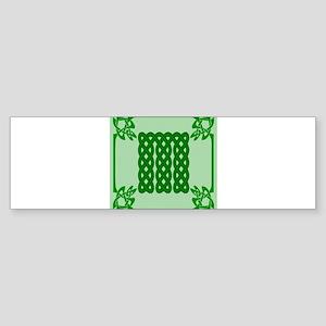 Celtic M Bumper Sticker