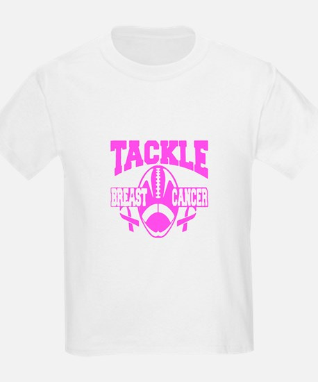 Tackle Breast Cancer T-Shirt