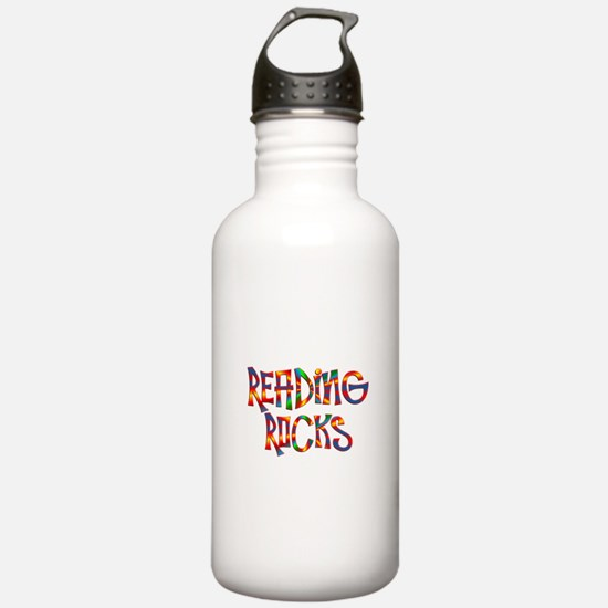 Reading Rocks Water Bottle