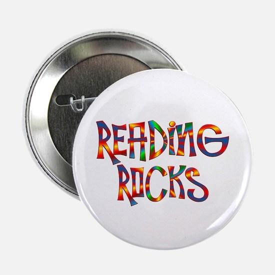 "Reading Rocks 2.25"" Button"