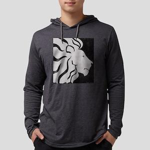 Lion, black and white art Long Sleeve T-Shirt