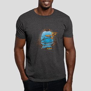 Trick 1 - Brown Line- The Super Kook Dark T-Shirt