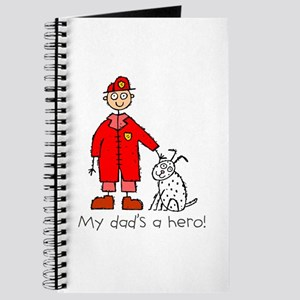 My Dad's a Hero Journal