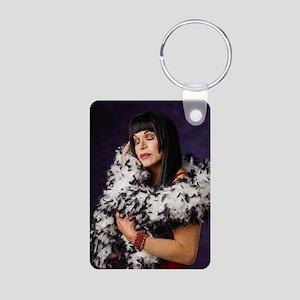 Cher-Javier Aluminum Photo Keychain Keychains
