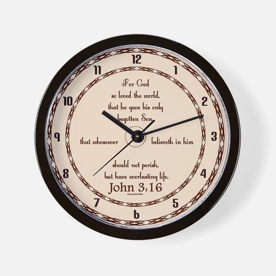 Cute A crown of thorns Wall Clock