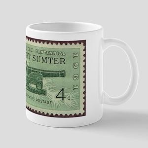 Fort Sumter Civil War Large Mugs