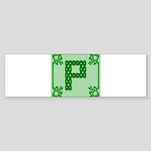 Celtic P Bumper Sticker