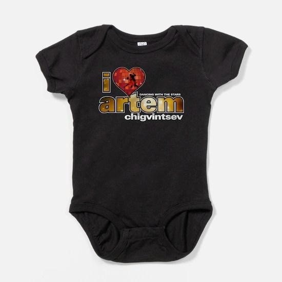 I Heart Artem Chigvintsev Baby Bodysuit