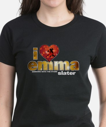 I Heart Emma Slater Women's Dark T-Shirt