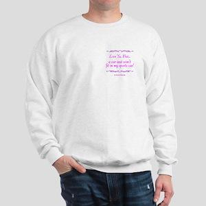 GRANDMA'S SPORTSCAR 2 Sweatshirt