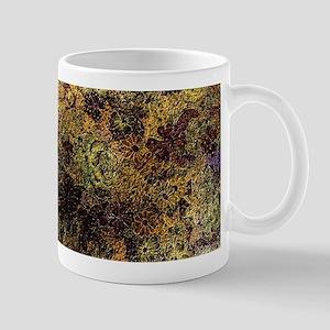 Golden floral Mugs