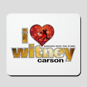 I Heart Witney Carson Mousepad
