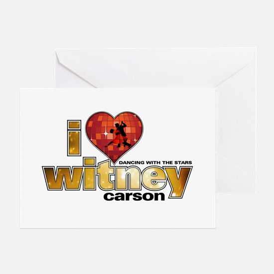 I Heart Witney Carson Greeting Card