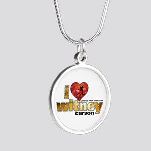 I Heart Witney Carson Silver Round Necklace