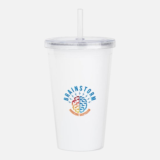 Cute Podcasts Acrylic Double-wall Tumbler