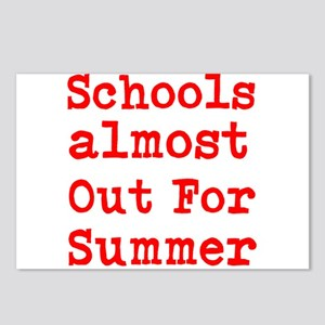 Schools almost out for Summer Postcards (Package o