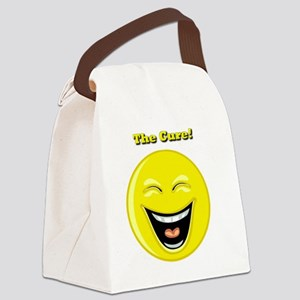 Smiles and Laughter is the Cure Canvas Lunch Bag
