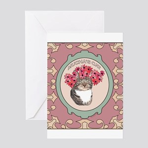 Mucha's Cat Greeting Cards