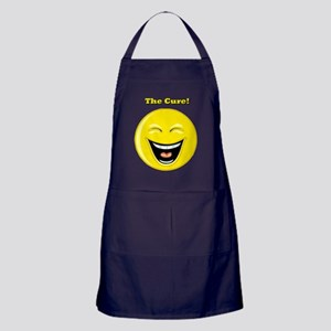 Smiles and Laughter is the Cure Apron (dark)