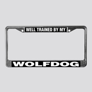 Well Trained By My Wolfdog