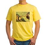 Creation - Australian Shep2 Yellow T-Shirt