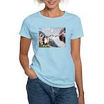 Creation - Australian Shep2 Women's Light T-Shirt