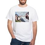 Creation - Australian Shep2 White T-Shirt