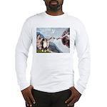 Creation - Australian Shep2 Long Sleeve T-Shirt