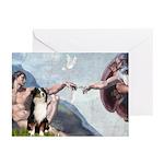 Creation - Australian Shep2 Greeting Cards (Pk of