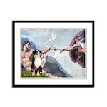 Creation - Australian Shep2 Framed Panel Print