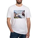 Creation - Australian Shep2 Fitted T-Shirt