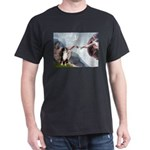Creation - Australian Shep2 Dark T-Shirt