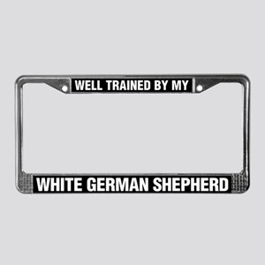 Well Trained By My White German Shepherd