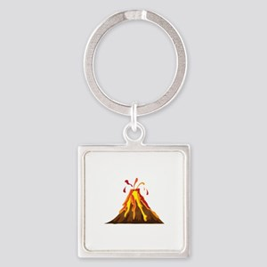 Volcano Keychains