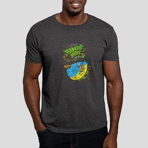 Trick 3 -Brown Line - The kook walk Dark T-Shirt