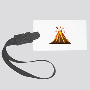 Volcano Luggage Tag