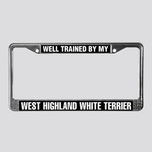 Well Trained By My West Highland White Terrier