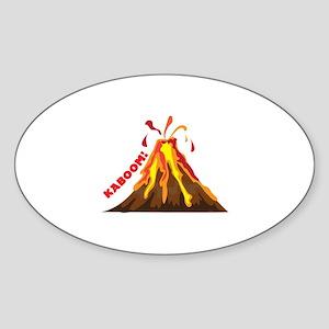 Volcano Kaboom Sticker