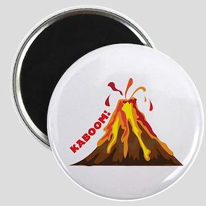 Volcano Kaboom Magnets