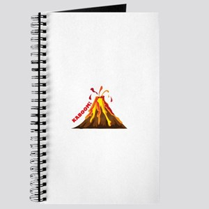 Volcano Kaboom Journal