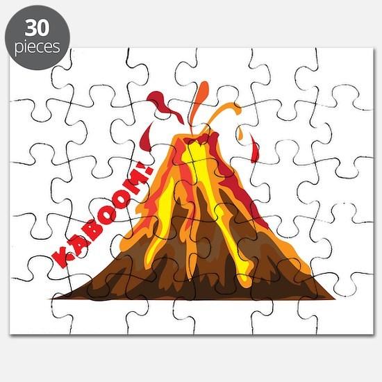 Volcano Kaboom Puzzle