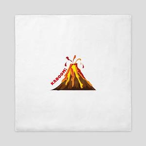 Volcano Kaboom Queen Duvet