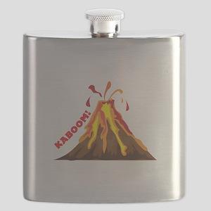 Volcano Kaboom Flask